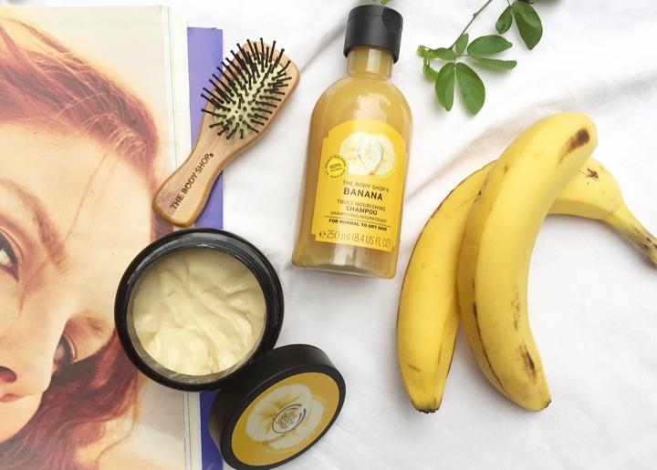 Review The Body Shop Banana Hair Care, Perawatan yang Cocok untuk RambutKering