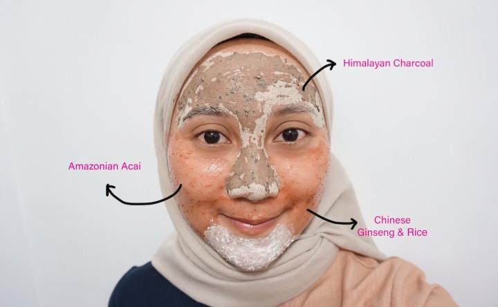 Pakai 3 Masker Sekaligus di Wajah, Ini Tips Buat Multi-masking Pakai Masker dari The BodyShop