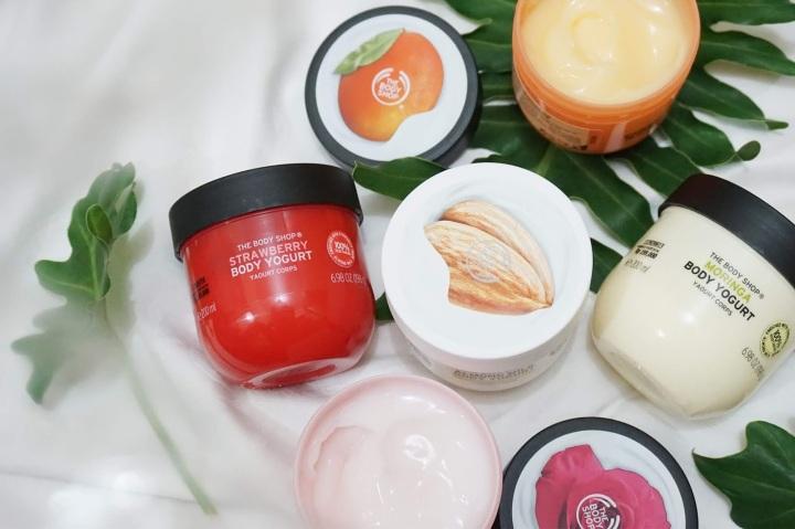 5 Cara Pakai The Body Shop Body Yogurt Saat KulitBasah