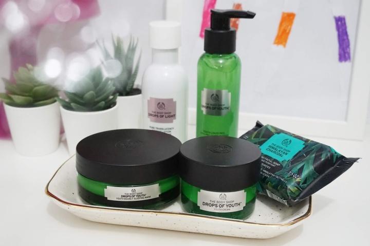 Current Skincare Routine September 2018 – Pakai Produk The Body Shop yang Cocok untuk Kulit Kombinasi (Normal –Berminyak)